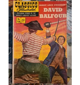 CLASSICS ILLUSTRATED CLASSICS ILLUSTRATED #94 DAVID BALFOUR VG-