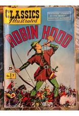 CLASSICS ILLUSTRATED CLASSICS ILLUSTRATED #7 ROBIN HOOD GD-