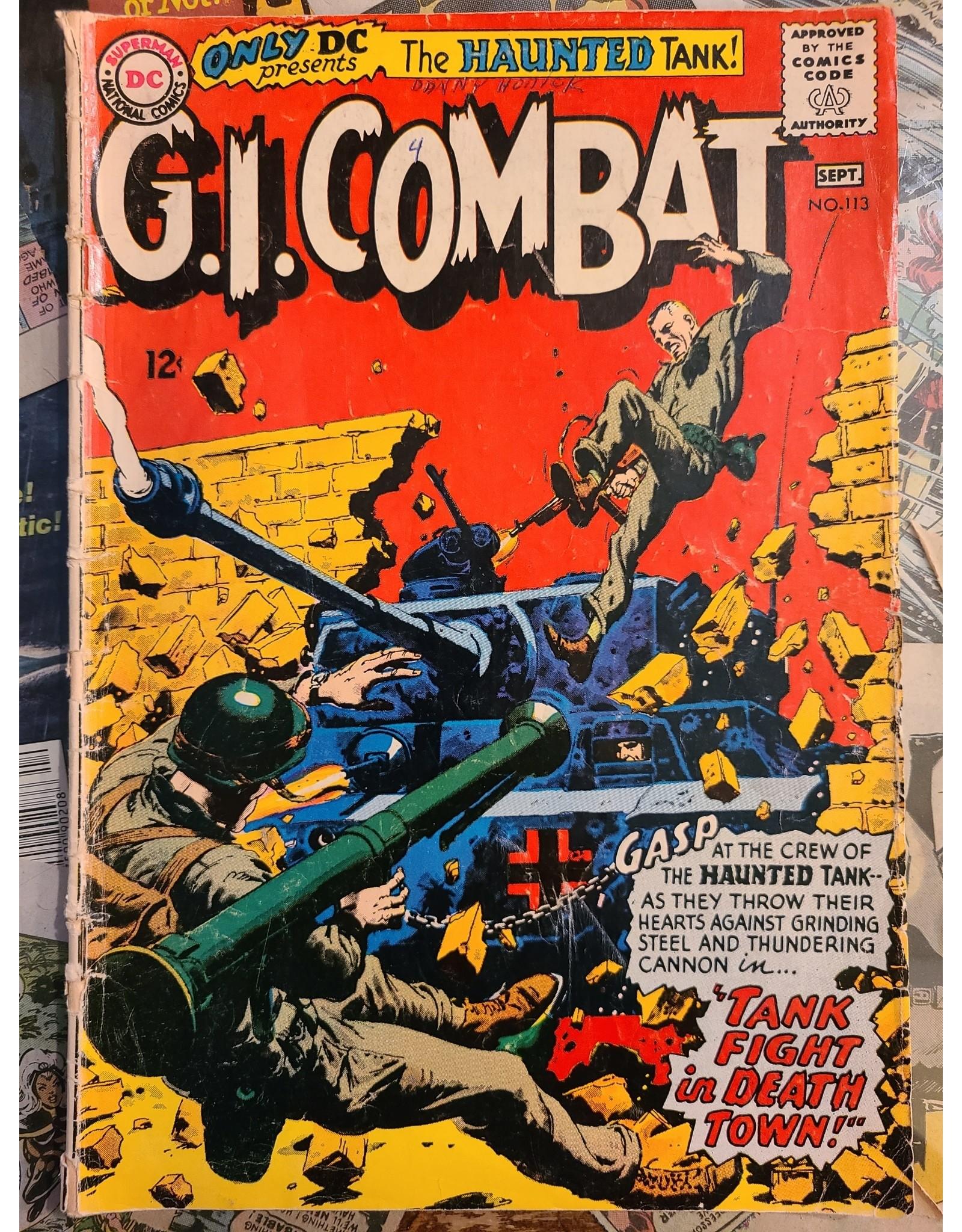 DC Comics G.I. COMBAT #113 GD-