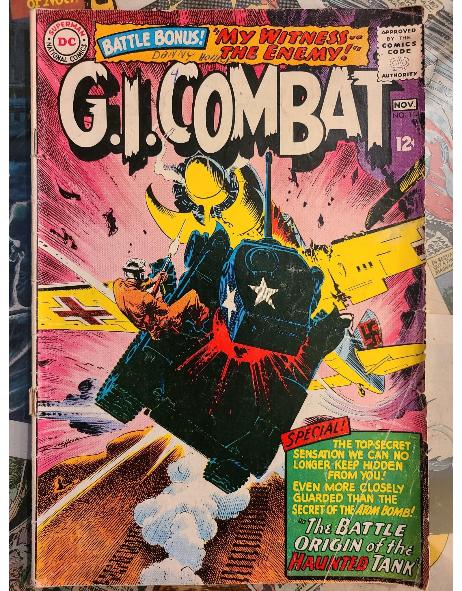 DC Comics G.I. COMBAT #114 GD