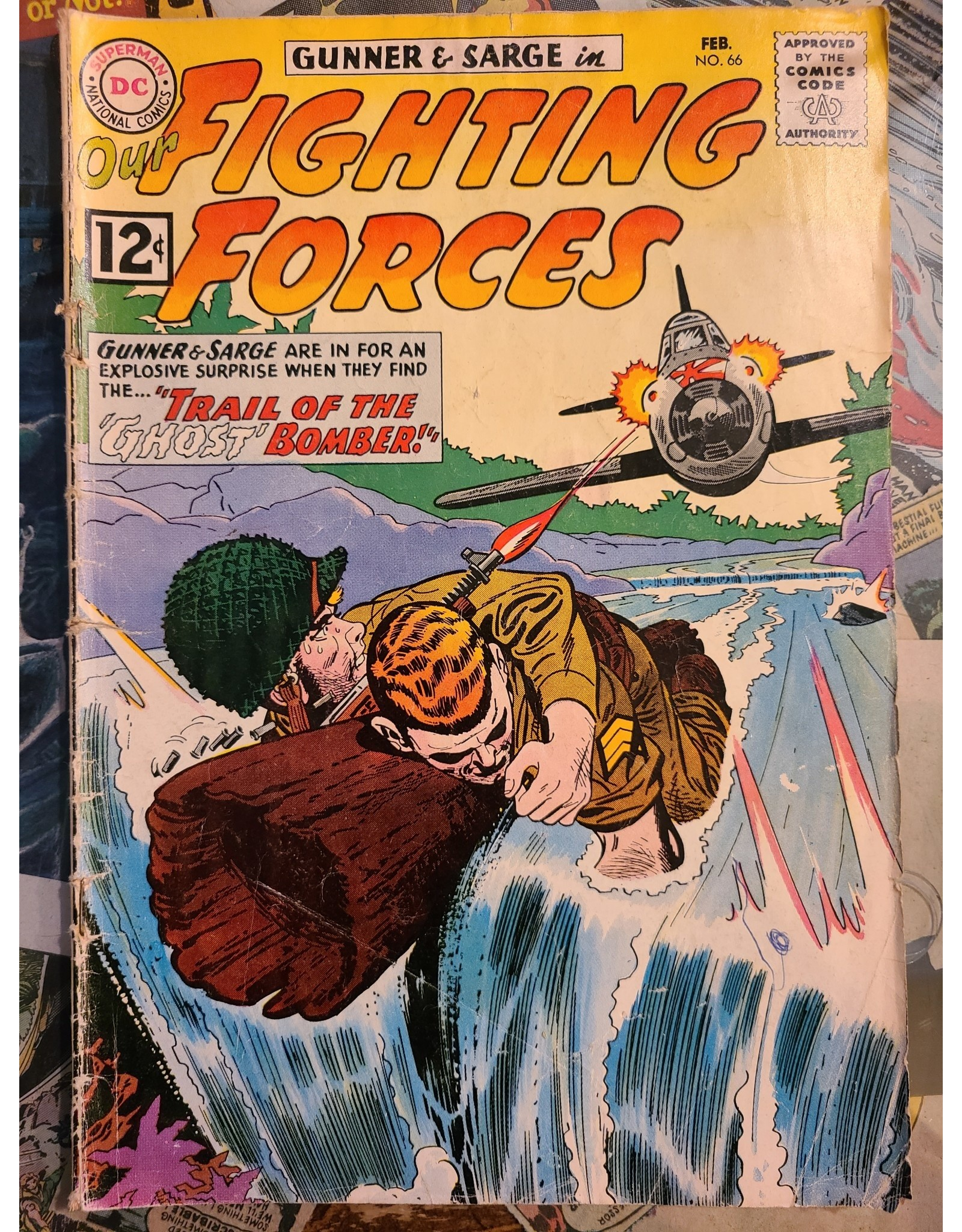 DC Comics OUR FIGHTING FORCES #66 GD-