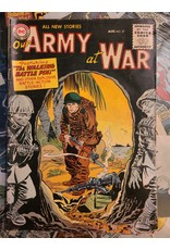DC Comics OUR ARMY AT WAR #37 VG