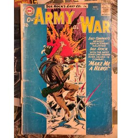 DC Comics OUR ARMY AT WAR #136 VG-