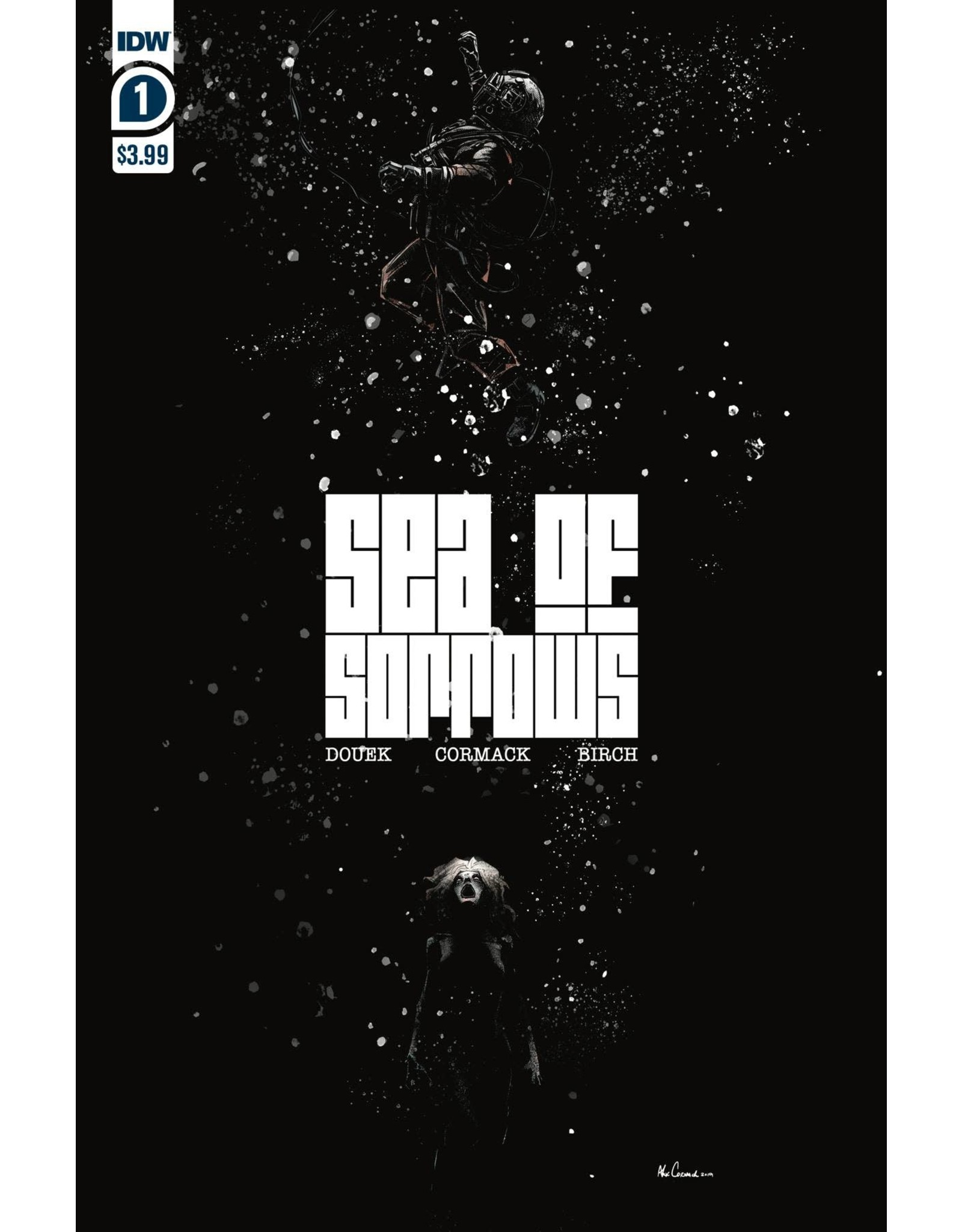IDW PUBLISHING SEA OF SORROWS #1 (OF 5) (RES)