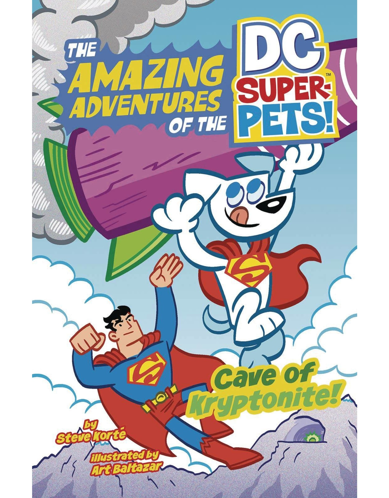 CAPSTONE - PICTURE WINDOW BOOK DC SUPER PETS YR TP CAVE OF KRYPTONITE (C: 0-1-0)