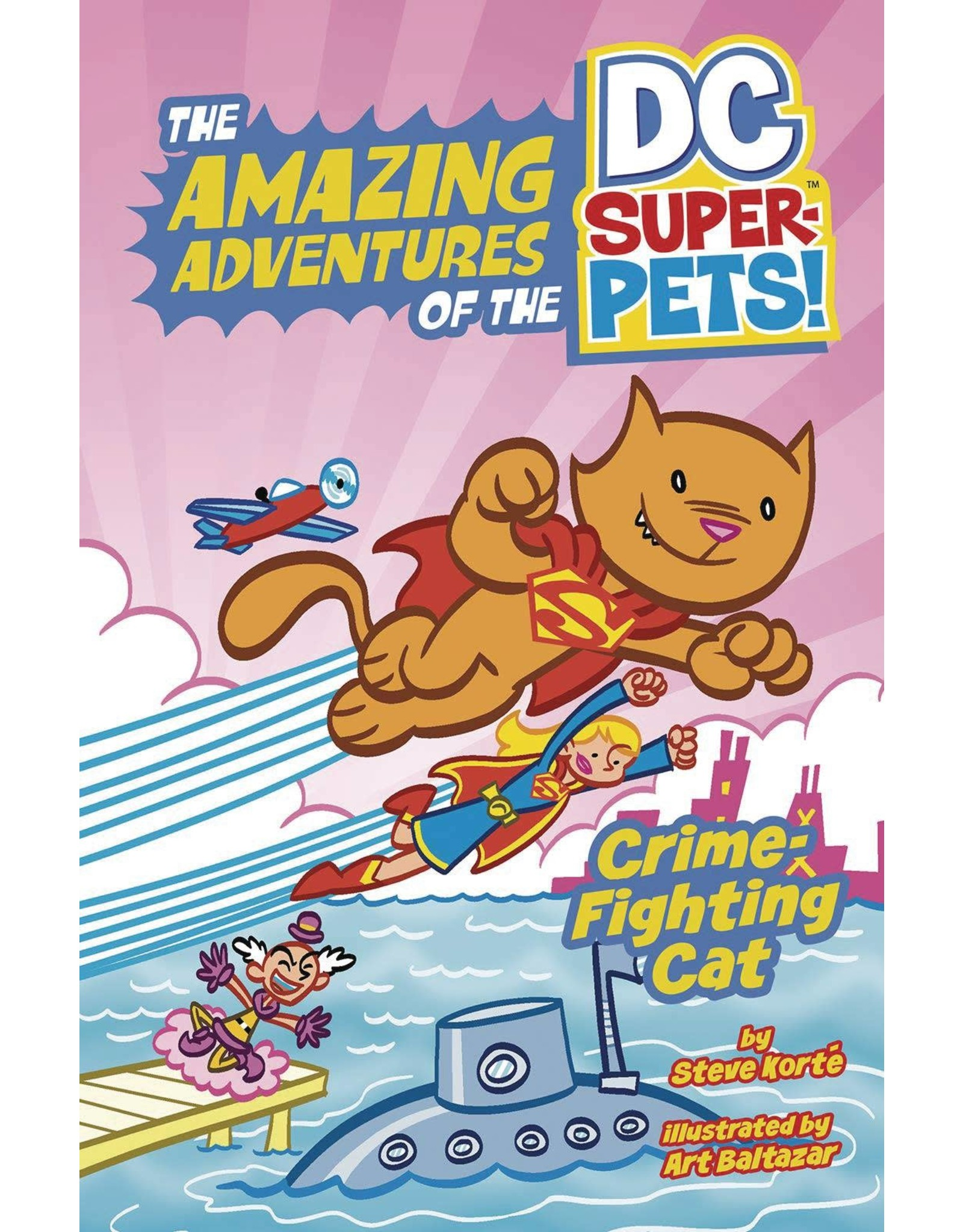 CAPSTONE - PICTURE WINDOW BOOK DC SUPER PETS YR TP CRIME FIGHTING CAT (C: 0-1-0)