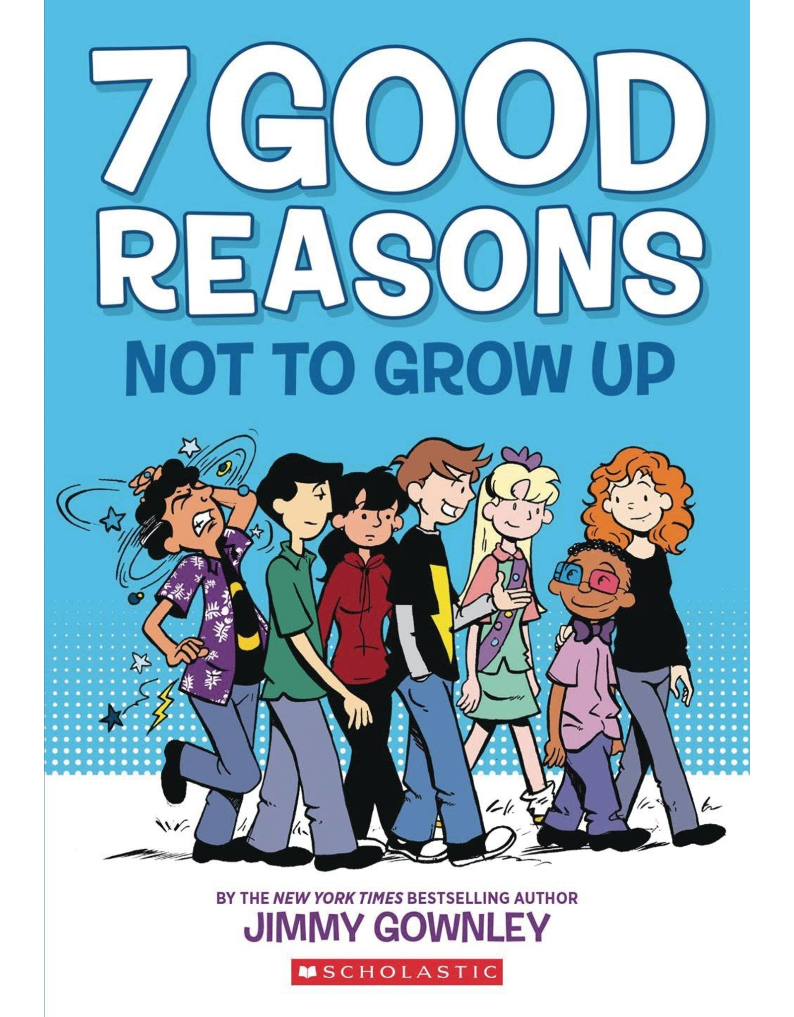 GRAPHIX 7 GOOD REASONS NOT TO GROW UP GN (C: 0-1-0)