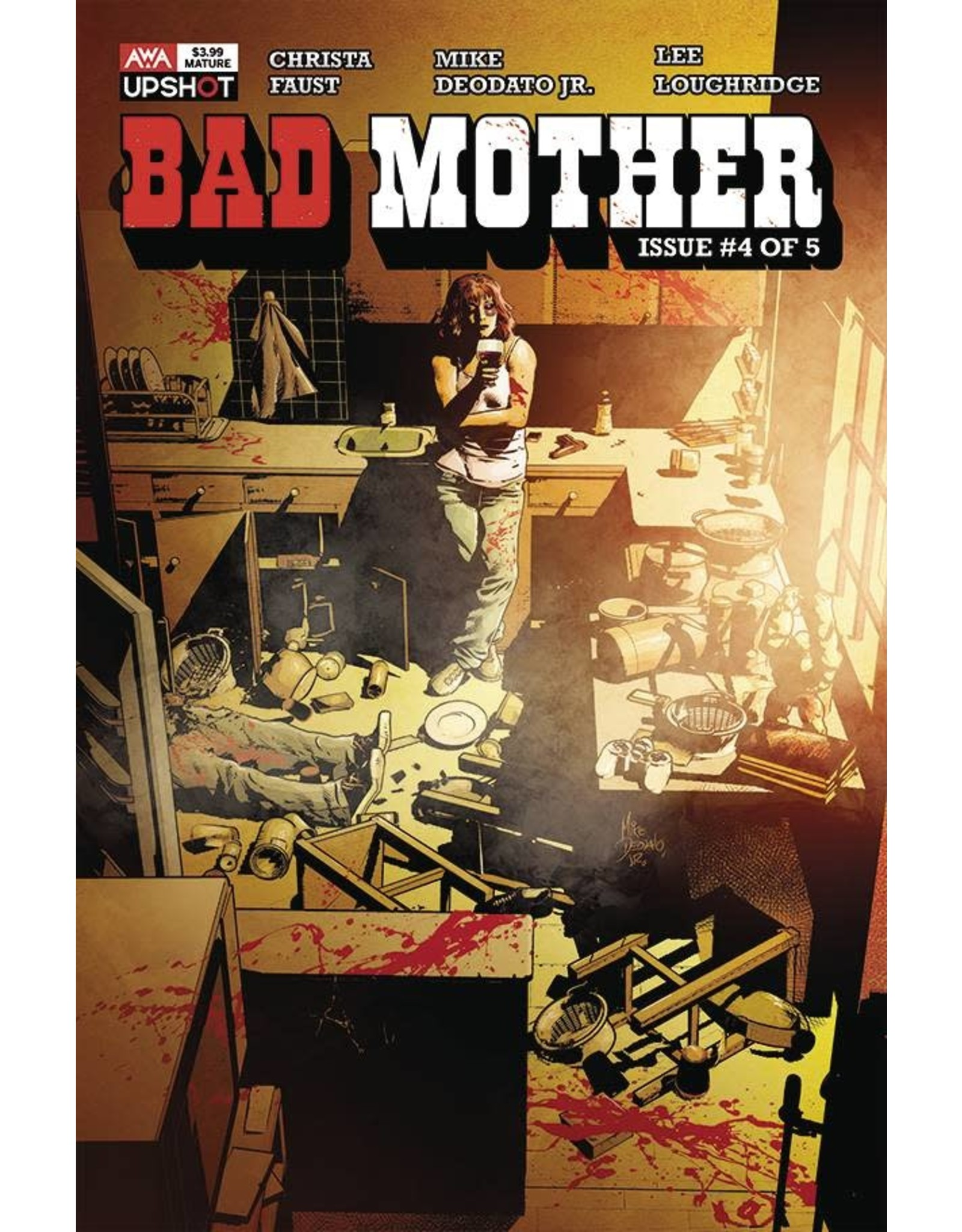 ARTISTS WRITERS & ARTISANS INC BAD MOTHER #4 (OF 5) (MR)