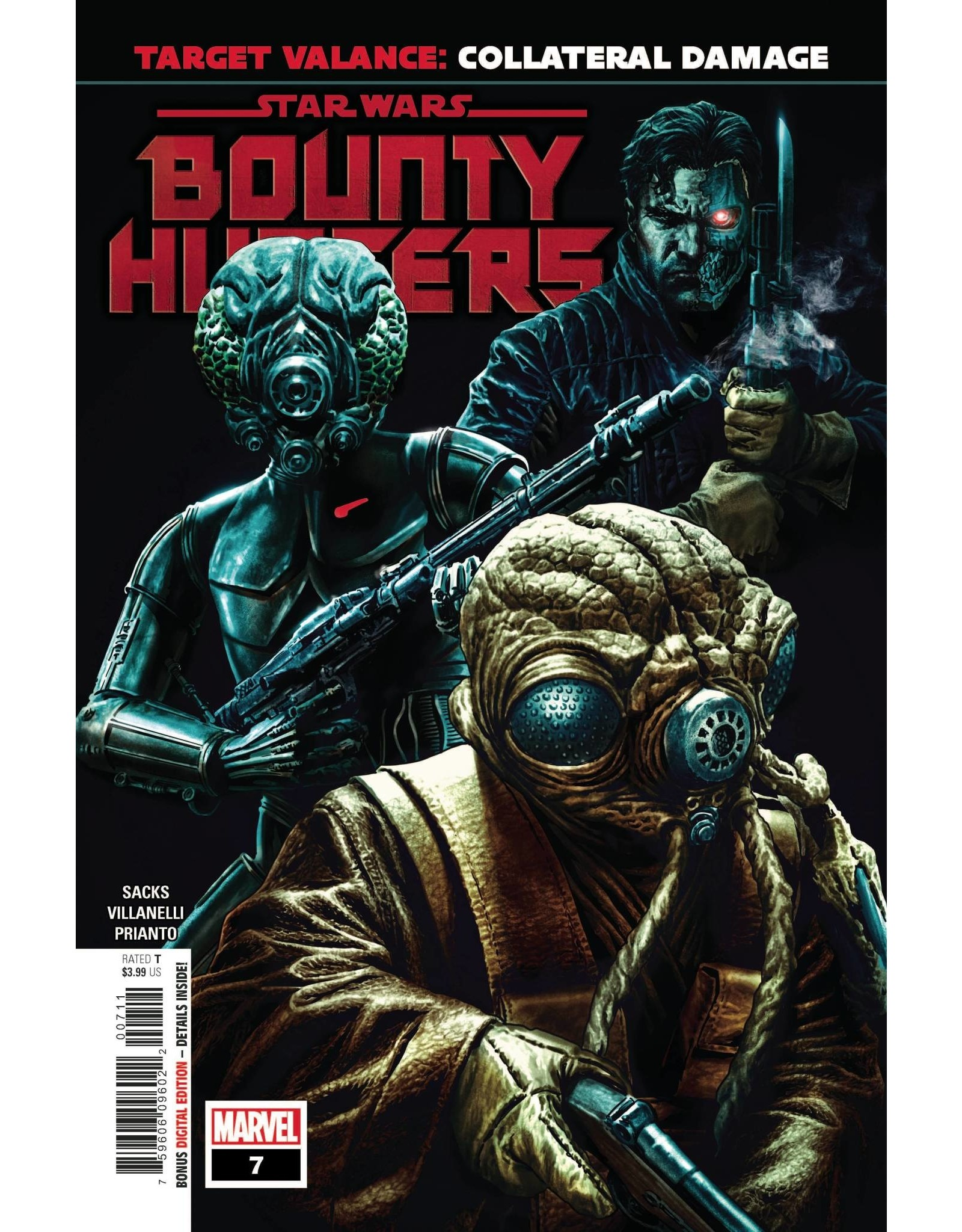Marvel Comics STAR WARS BOUNTY HUNTERS #7