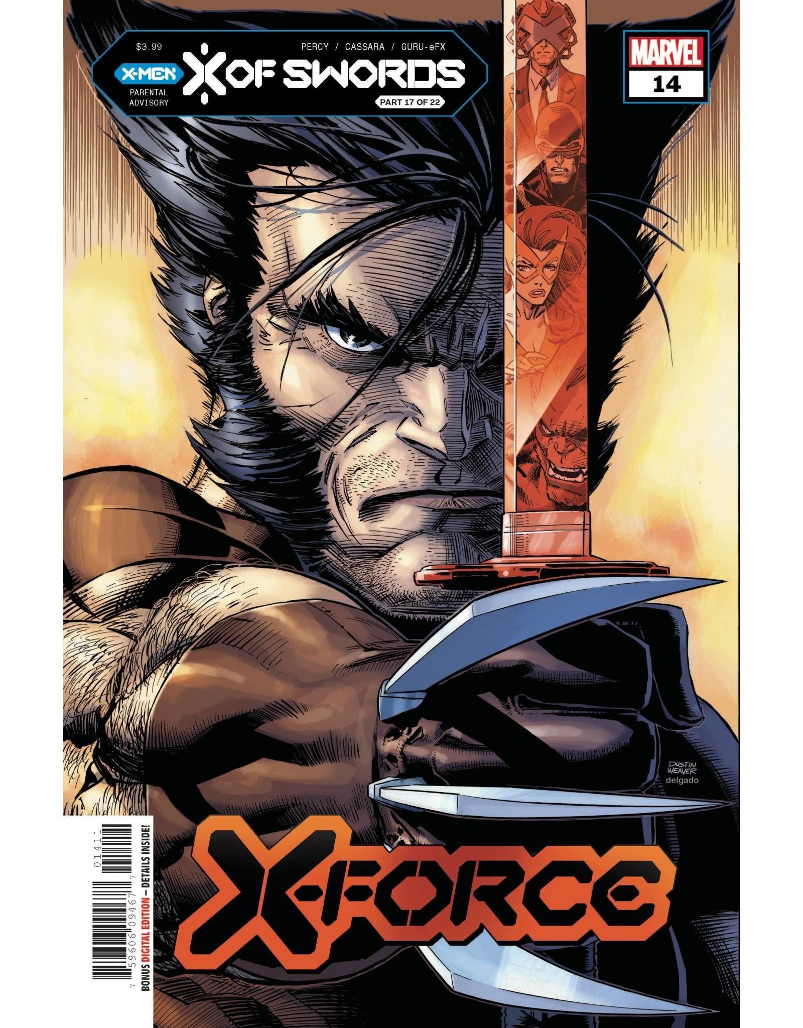 Marvel Comics X-FORCE #14 XOS