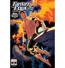 Marvel Comics FANTASTIC FOUR #26 ANKA NAMOR PHOENIX VAR EMP