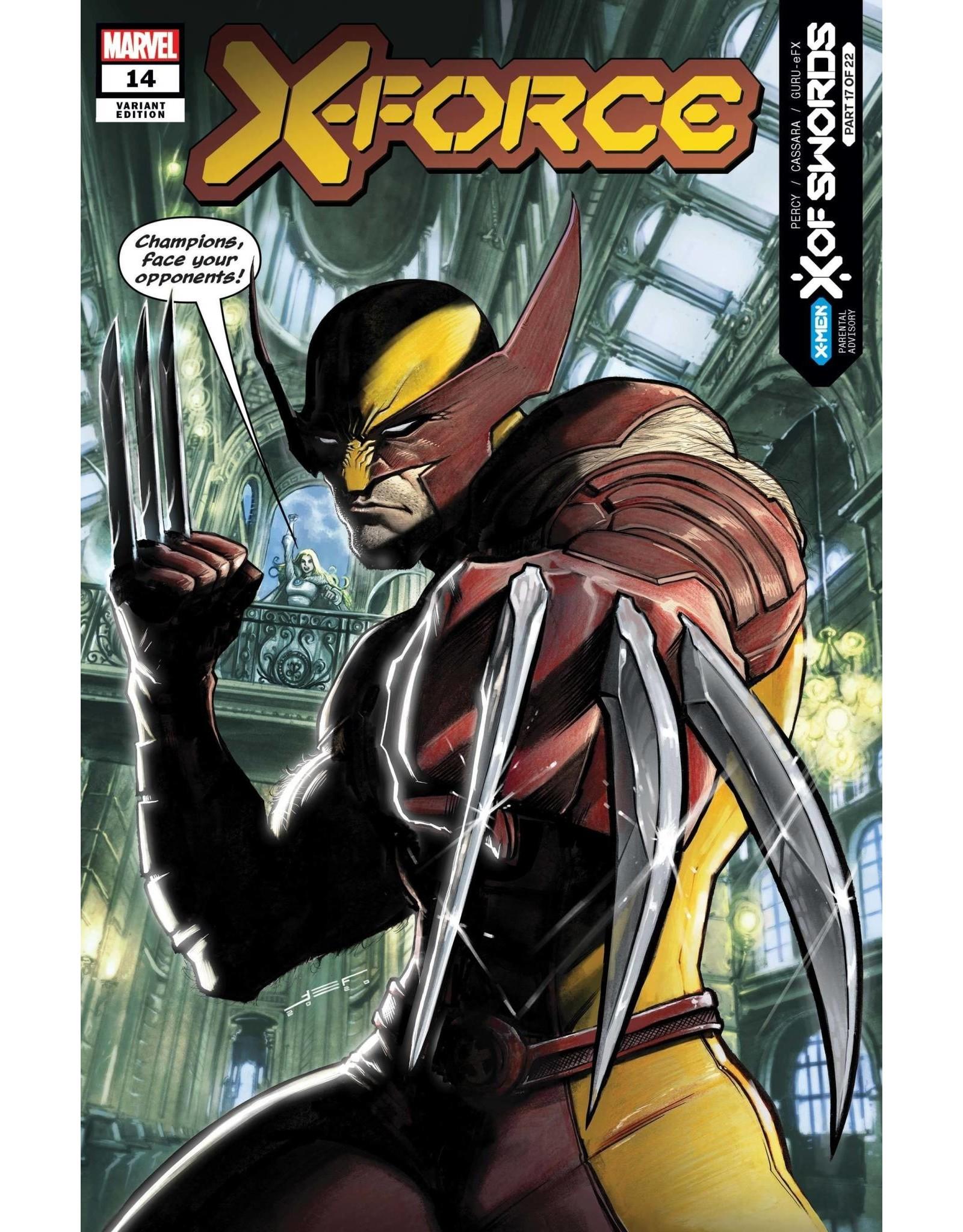 Marvel Comics X-FORCE #14 FERREYRA VAR XOS