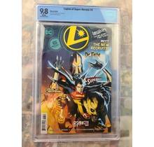 Legion of Super Heroes #6 CBCS 9.8 1st Gold Lantern 2020 DC Comics