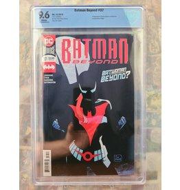 DC Comics Batman Beyond #37 First Batwoman Beyond CBCS 9.6 2019 DC Comics
