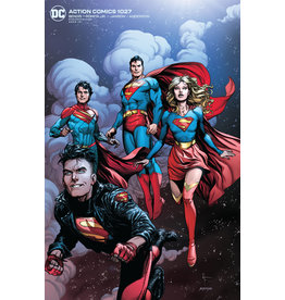 DC Comics ACTION COMICS #1027 CVR B GARY FRANK CARD STOCK VAR