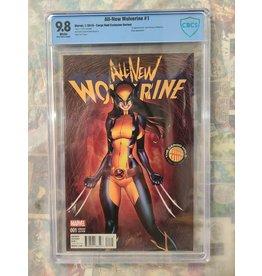 Marvel All New Wolverine #1 Cargo Hold Variant 2016 Marvel CBCS 9.8