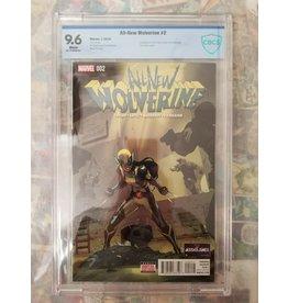 Marvel Comics All New Wolverine #2 1st Appearance Honey Badger CBCS 9.6