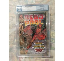 Deadpool #1 1997 PGX 9.6 1st Solo series, 1st T-Ray and Blind Al