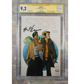Image Comics SAGA CHAPTER 1 5TH PRINTING CGC 9.2 Signature Series