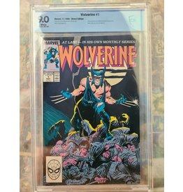 Marvel Comics Wolverine #1 1988 CBCS 9.0 Marvel Comics