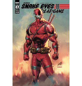 IDW PUBLISHING SNAKE EYES DEADGAME #3 (OF 6) CVR B LIEFELD