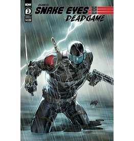 IDW PUBLISHING SNAKE EYES DEADGAME #3 (OF 6) CVR A LIEFELD