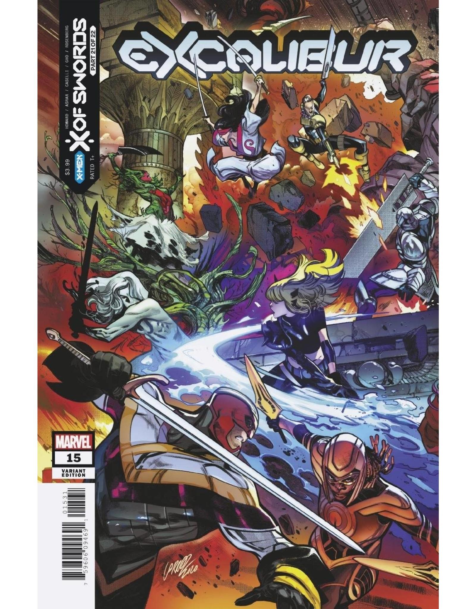 Marvel Comics EXCALIBUR #15 LARRAZ CONNECTING VAR XOS