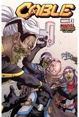 Marvel Comics CABLE #2 YARDIN MARVEL ZOMBIES VAR