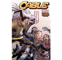 CABLE #2 YARDIN MARVEL ZOMBIES VAR
