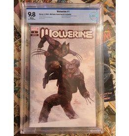 Marvel Comics Wolverine #1 Mill Geek/ ComicTom Exclusive 2020 9.8