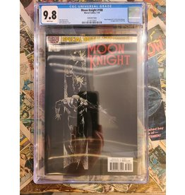 Marvel Comics Moon Knight #188 CBCS 9.8 Lenticular #25 Homage, 1st Sun King