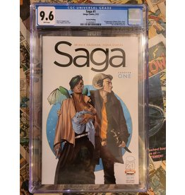 Image Comics Saga Chapter 1 2nd Print CGC 9.6