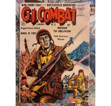 G.I. COMBAT #33 VG