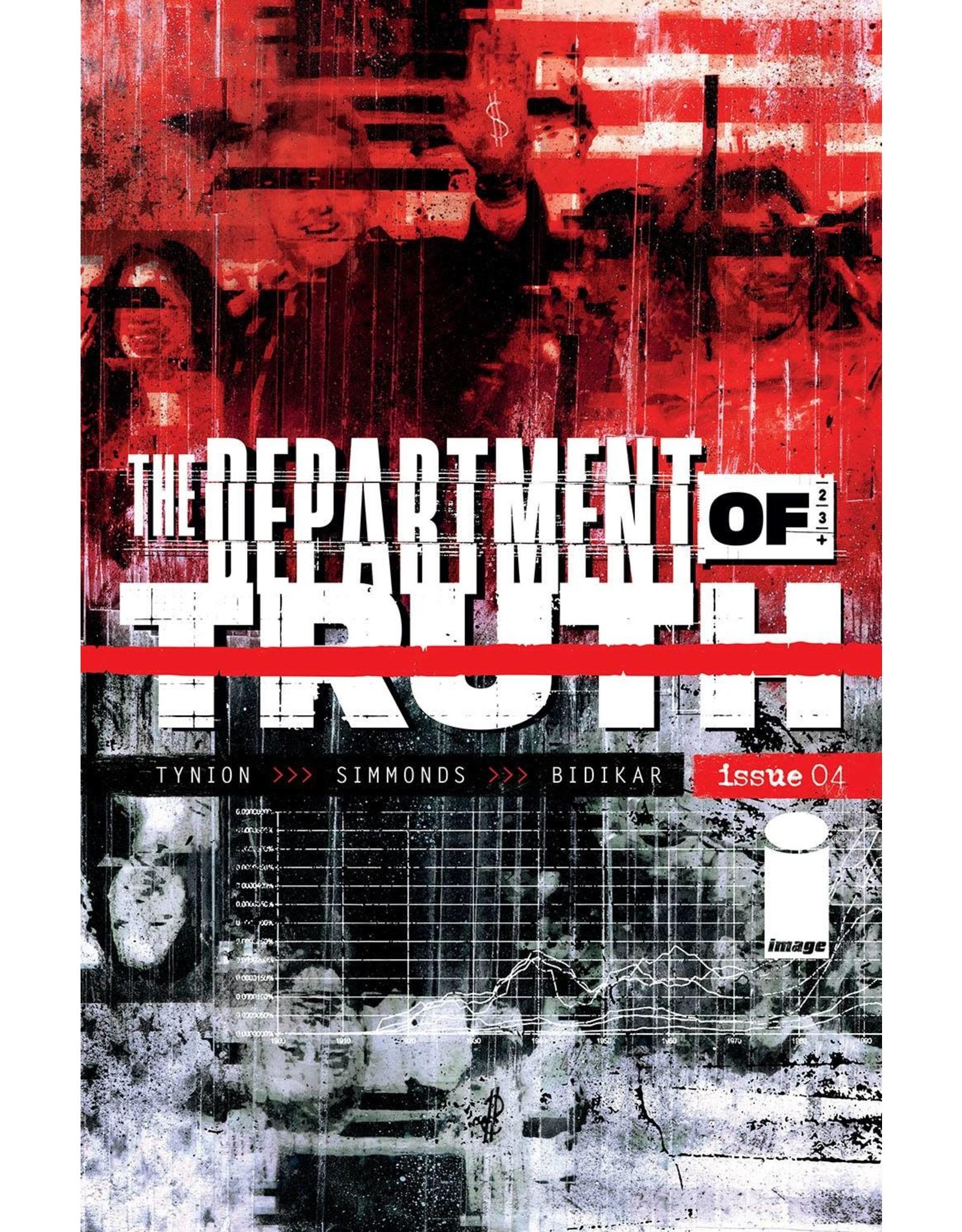 Image Comics DEPARTMENT OF TRUTH #4 CVR A SIMMONDS