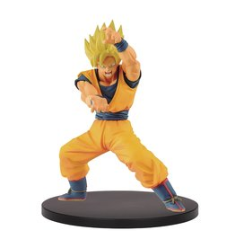 BANPRESTO DB SUPER CHOSENSHI RETSUDEN SUPER SAIYAN GOKU FIG