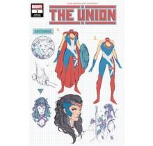 THE UNION #1 (OF 5) SILVA DESIGN VAR KIB