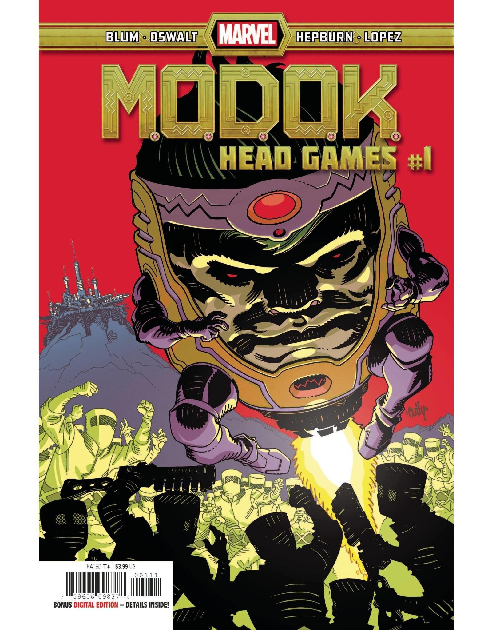 Marvel Comics MODOK HEAD GAMES #1 (OF 4)