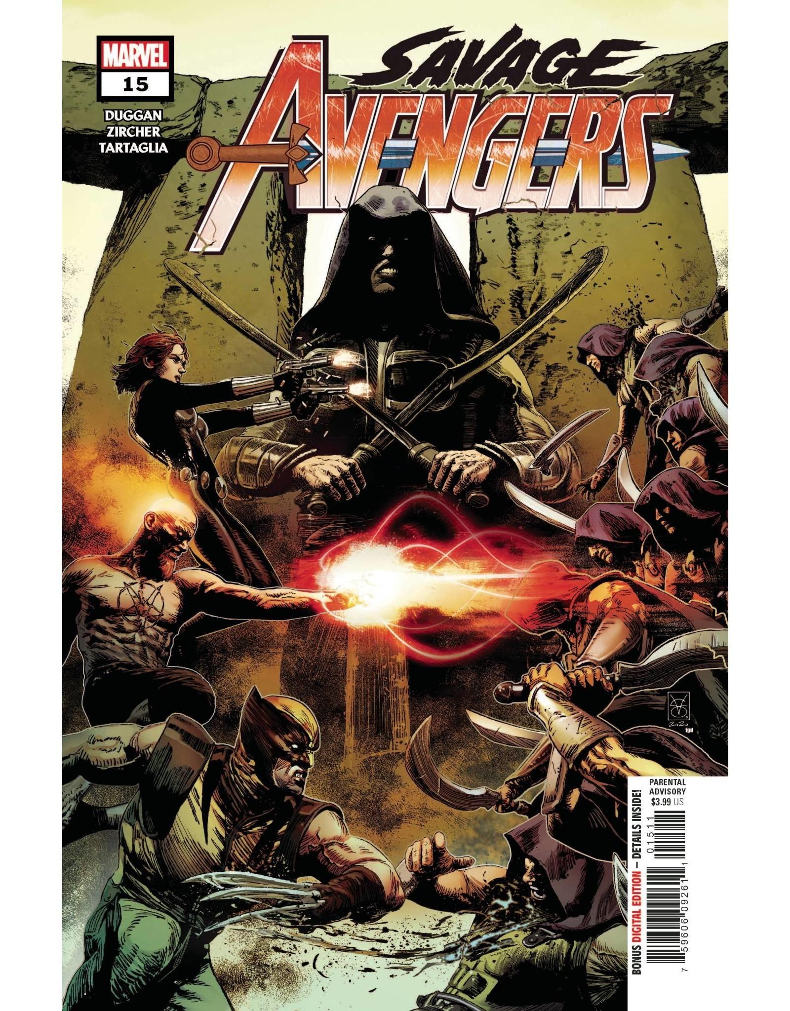 Marvel Comics SAVAGE AVENGERS #15