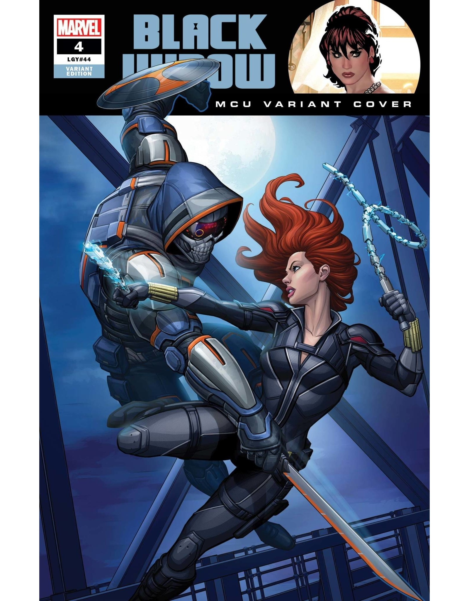 Marvel Comics BLACK WIDOW #4 BROWN MCU VAR