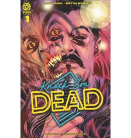 AFTERSHOCK COMICS KNOCK EM DEAD #1 15 COPY TONY HARRIS INCV