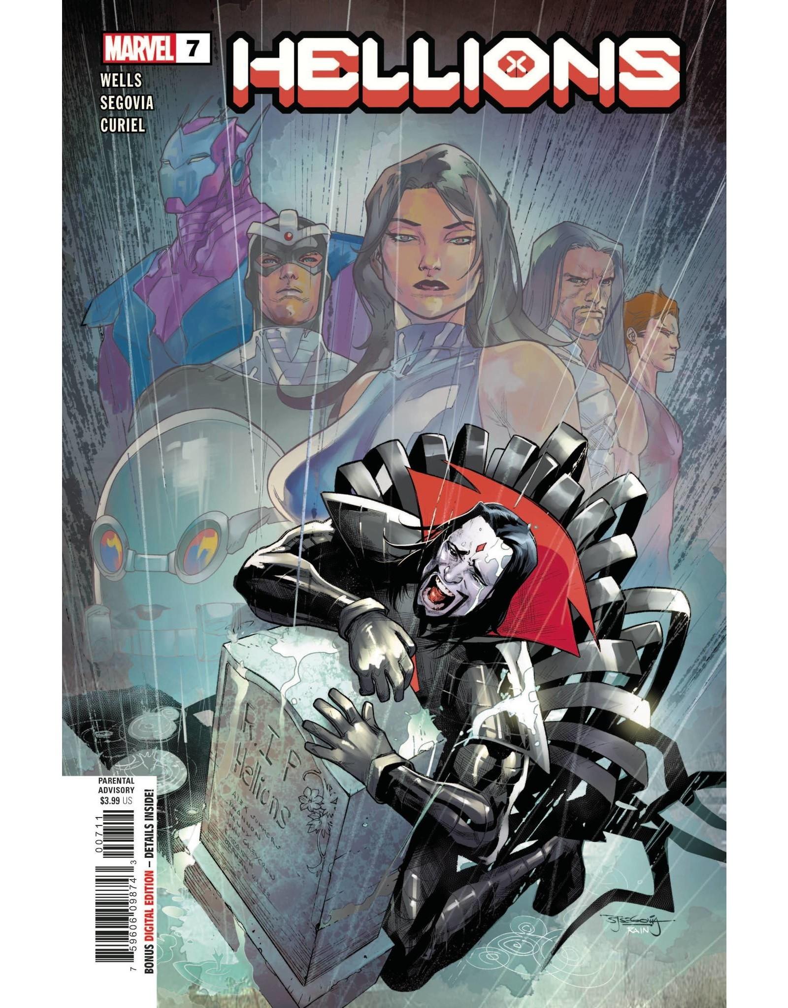Marvel Comics HELLIONS #7 XOS