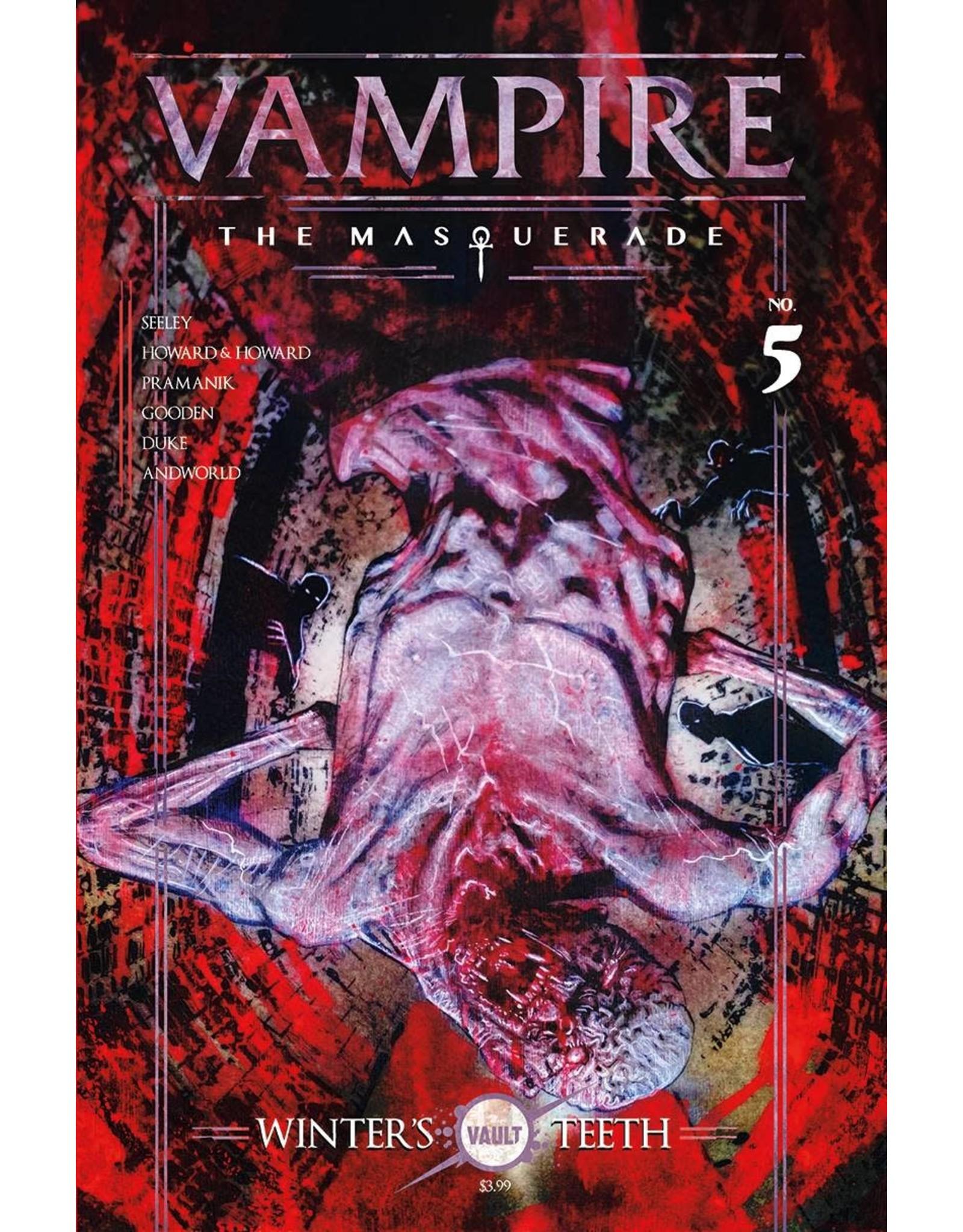VAULT COMICS VAMPIRE THE MASQUERADE #5 CVR A CAMPBELL