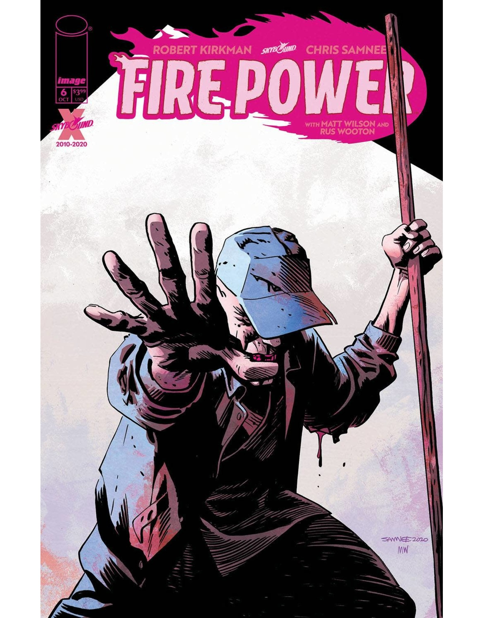 Image Comics FIRE POWER BY KIRKMAN & SAMNEE #6