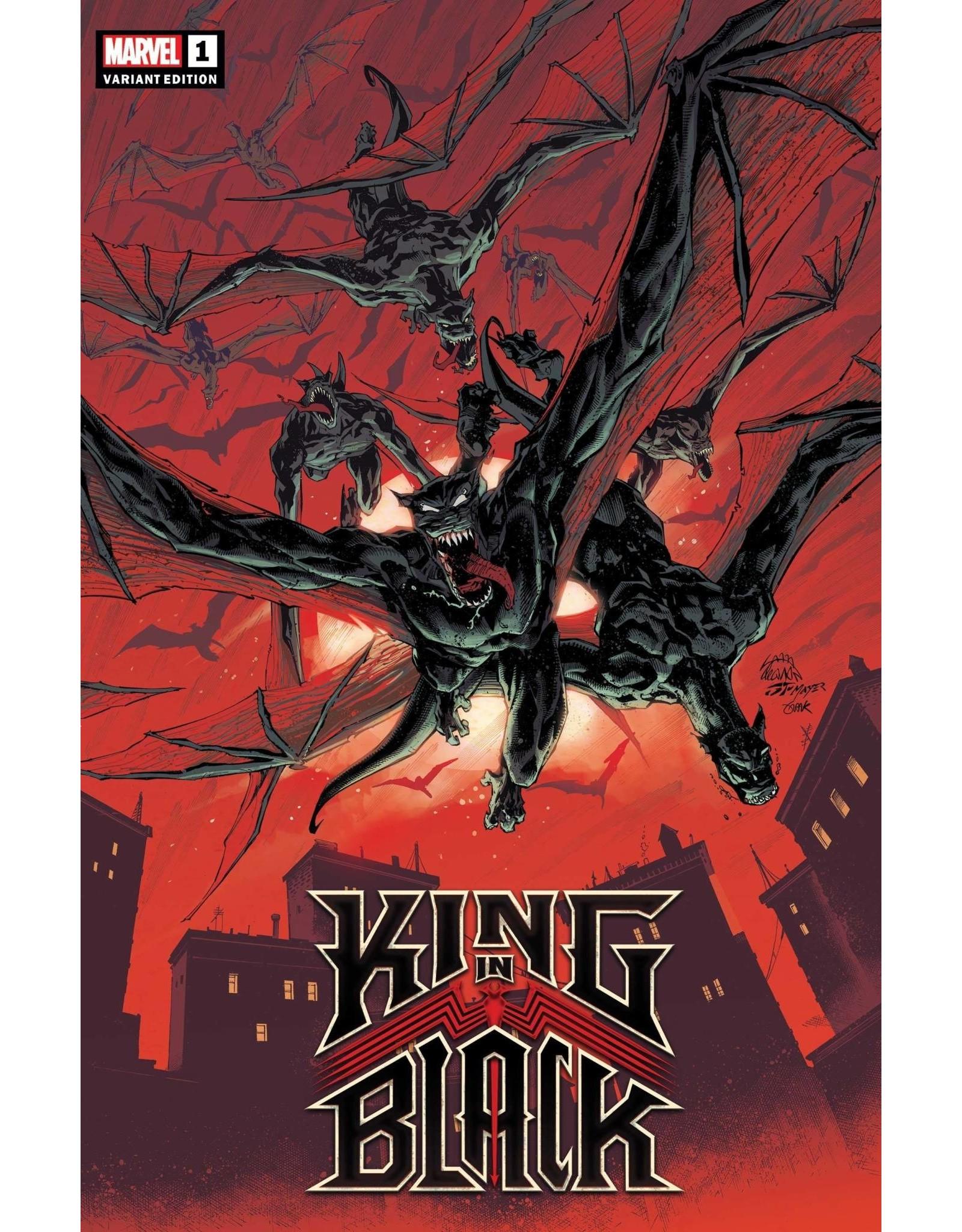 Marvel Comics KING IN BLACK #1 (OF 5) STEGMAN DARKNESS REIGNS VAR