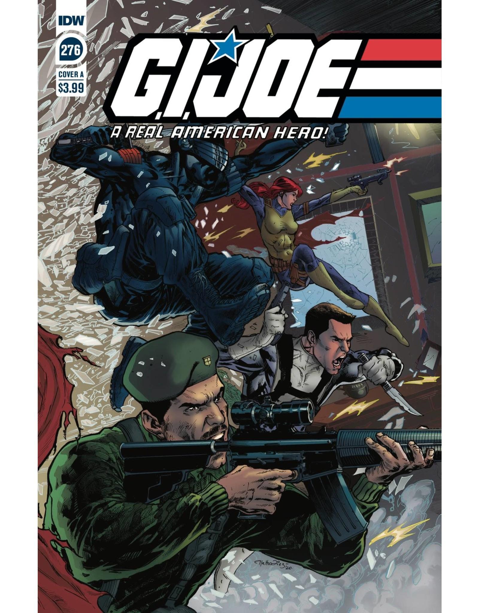 IDW PUBLISHING GI JOE A REAL AMERICAN HERO #276 CVR A DIAZ