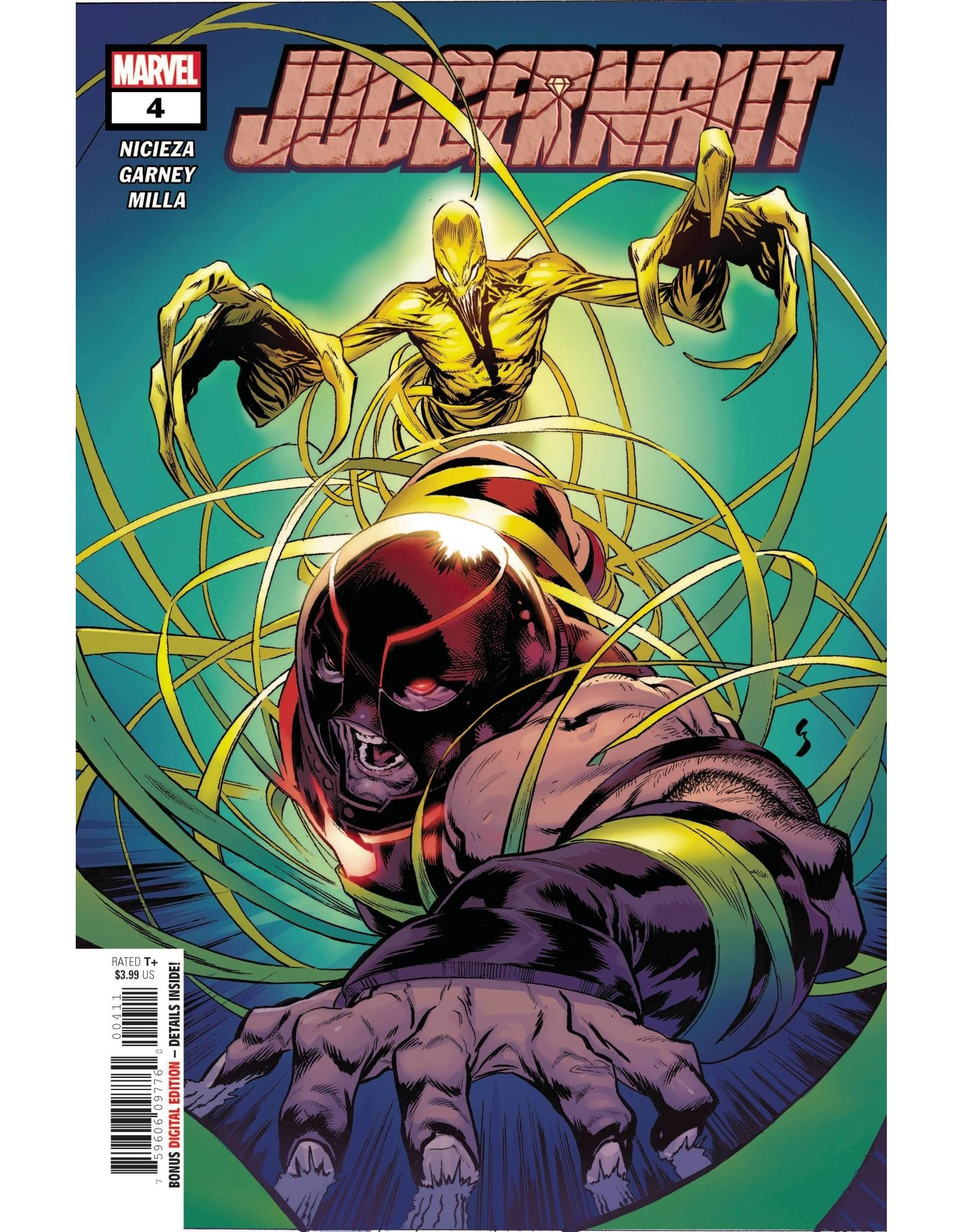 Marvel Comics JUGGERNAUT #4 (OF 5)