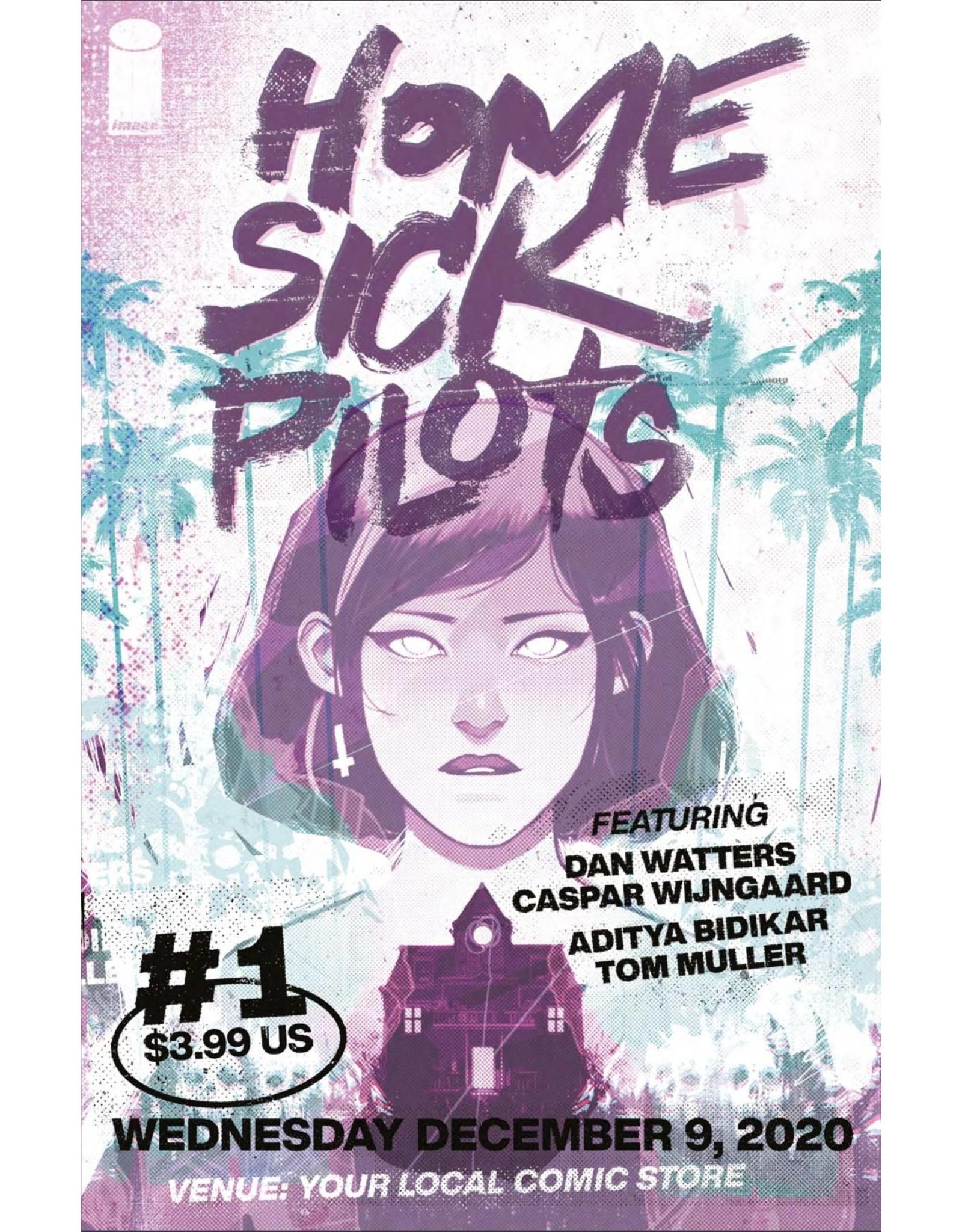 Image Comics HOME SICK PILOTS #1 CVR B CONCERT POSTER VAR
