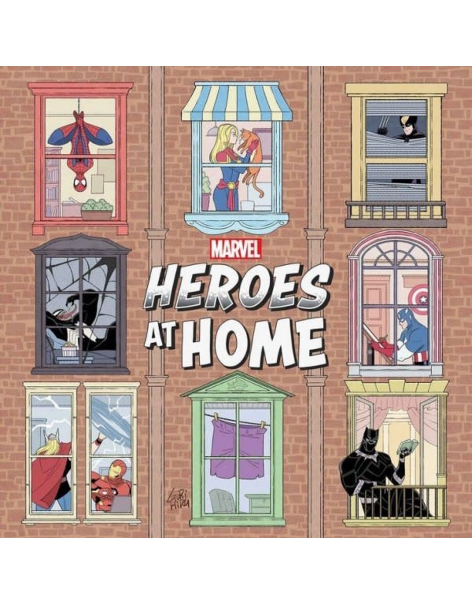 Marvel Comics HEROES AT HOME #1