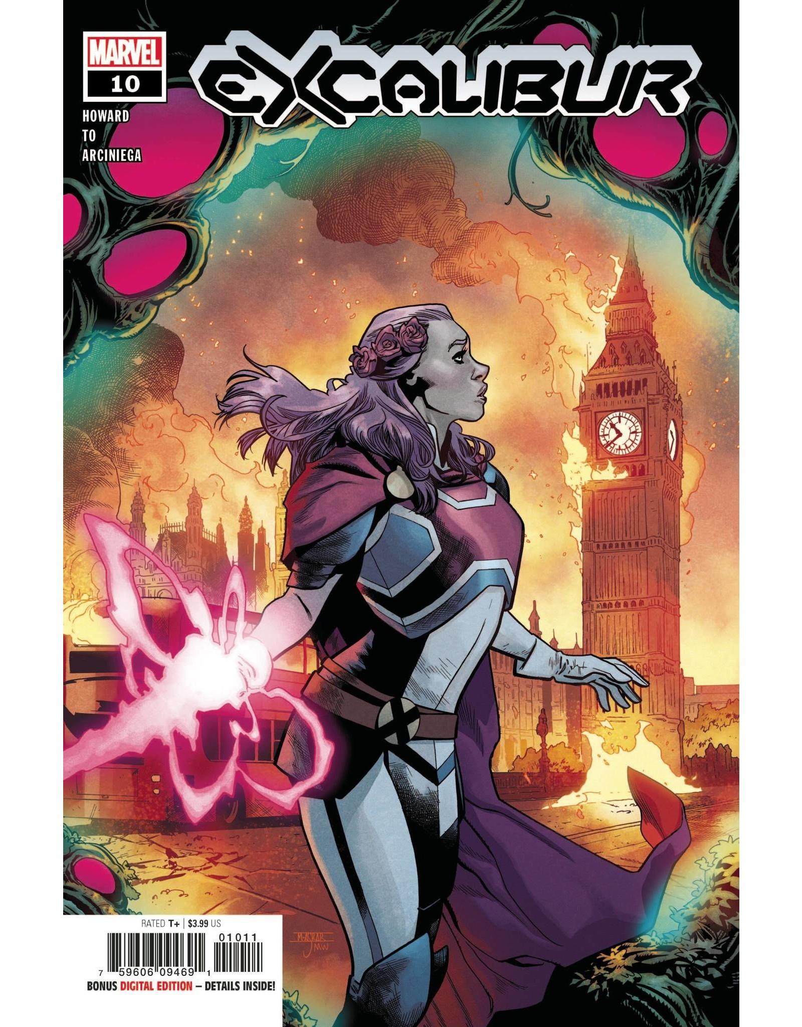 Marvel Comics EXCALIBUR #10