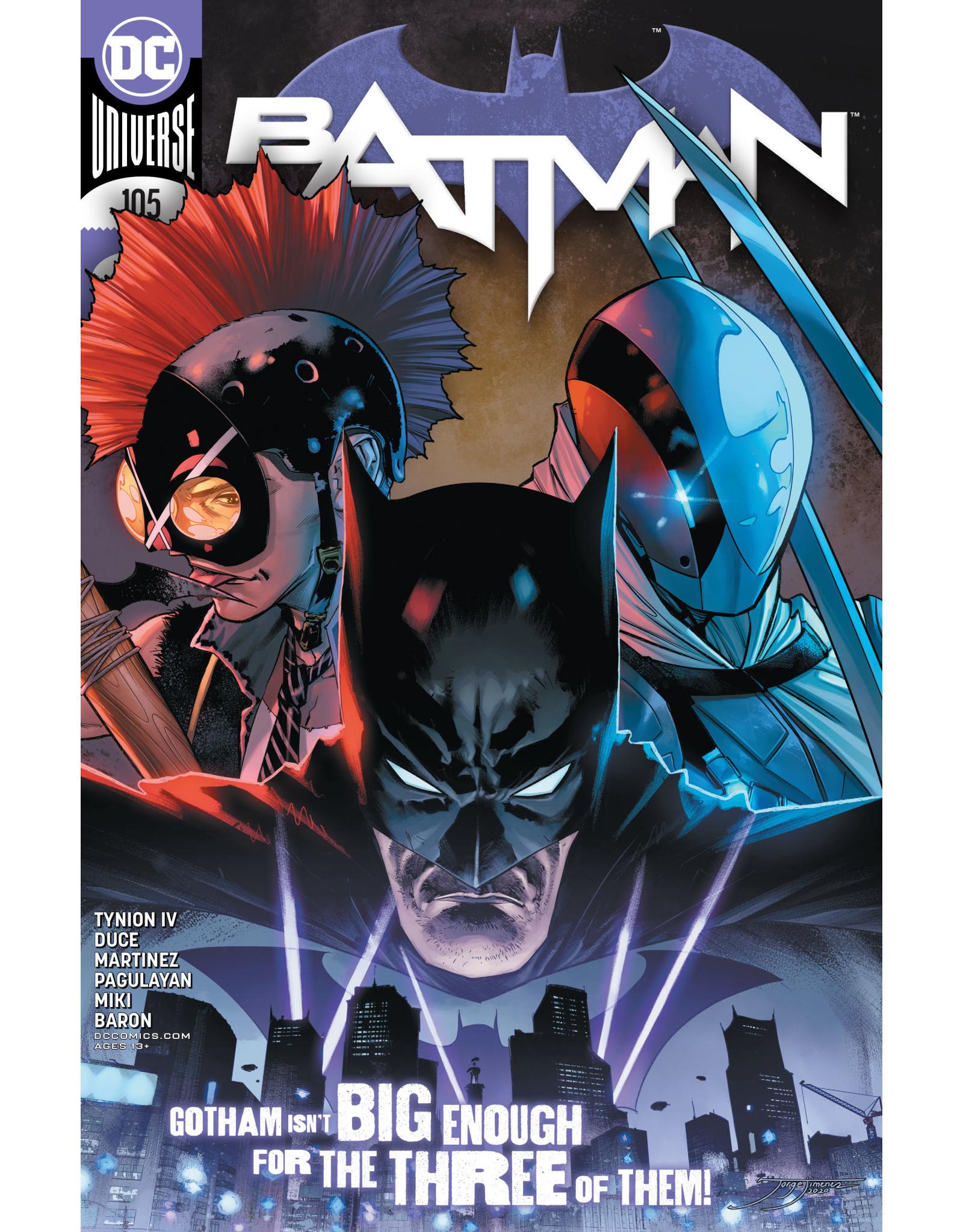DC Comics BATMAN #105 CVR A JORGE JIMENEZ